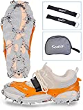 Ice Grippers for Climbing Fishing Hiking Hunting Jogging Playing Running Walking on Ice