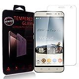 Ycloud Protector de Pantalla para BLUBOO Xfire 2 (5.0 Pulgada) Cristal Vidrio Templado Premium [9H Dureza][Alta Definicion]