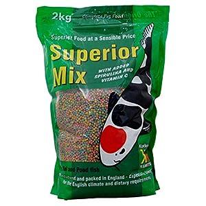 Kockney Koi Superior Mix Pond Fish Food 4mm 2kg Bag