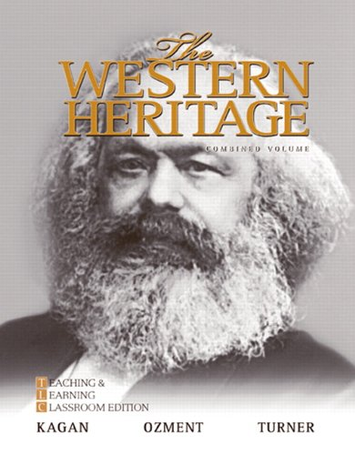 Price comparison product image The Western Heritage: Teaching and Learning Classroom Edition,  Combined Volume