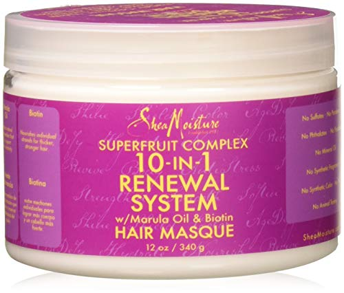 SheaMoisture Superfruit Complex 10-In-1 Renewal System Hair Masque | 12 oz.