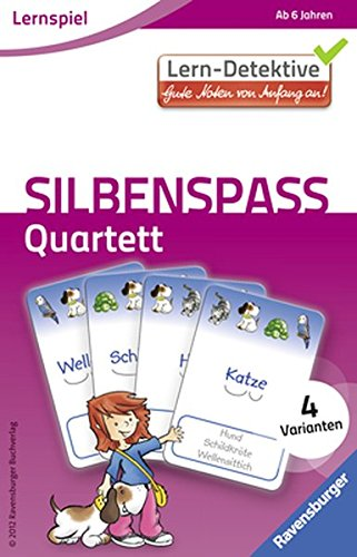 Ravensburger 4049817414903 Silbenspaß, Quartett