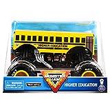 Monster Jam, Official Higher Education Monster Truck, Die-Cast Vehicle, 1:24 Scale