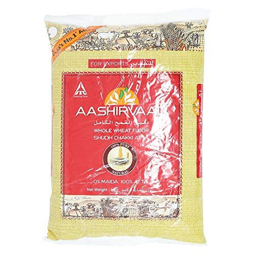 アーシールバード全粒粉 1kg チャパティーに最適なインド産のアタ 小麦粉 パン用 パラタ AASHIRVAAD ATTA Whole Wheat Flour ???????? ???