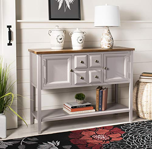 Safavieh American Homes Collection Charlotte Quartz Grey Sideboard