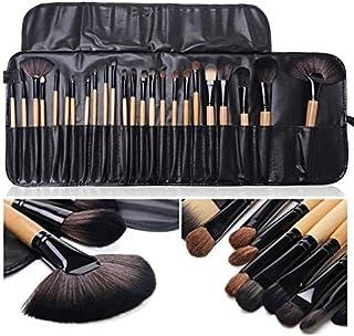 Kit de Pincéis para Maquiagem - 24 pincéis + Case Nécessaire - Preto