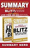 SUMMARY BOOKS OF: David Horowitz BLITZ - Trump Will Smash the Left and Win and Sean Hannity LIVE FREE OR DIE - America (and the World) on the Brink