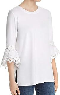 LE GALI NEW Women/'s Mia Velvet Ruffle-cuff Blouse Shirt Top TEDO