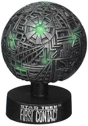 Star Trek Primer Contacto Figura Movible Monitor Mate Esfera Borg 8 cm