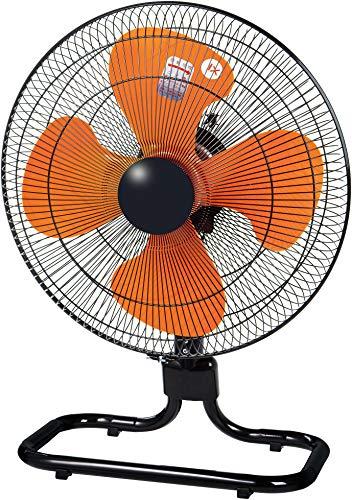 【Amazon.co.jp限定】 ナカトミ 45cm 工場扇 床置型 スピンナー式(羽根簡単取付) 3段階風量 左右首振 上下首折 1年保証 フロア扇 1年保証 工業 扇風機 QZF-45