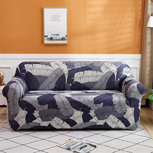SUUZQK Die rutschfeste Elastische Sofabezug Aus Polyester Ist Nicht Leicht Zu Verblassen. Die Rundum-Sofabezug Ist EIN Sofakissen Für Das Wohnzimmer 2 Seater (145-185 cm)