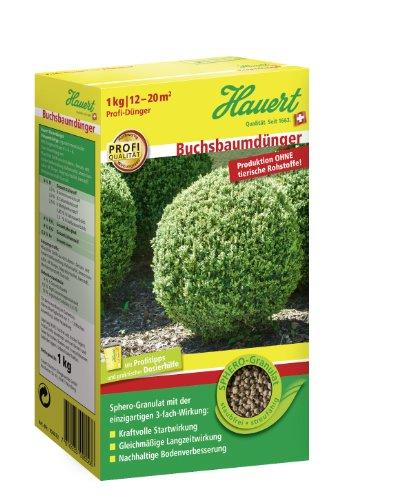 Hauert HBG Dünger 803301 Buchsbaumdünger 1 kg Sphero-Granulat