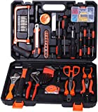 Birtech <span class='highlight'>Tool</span> Kit 102 Piece Home Repair <span class='highlight'>Tool</span> <span class='highlight'>Set</span> with Plastic <span class='highlight'>Tool</span> Box Storage