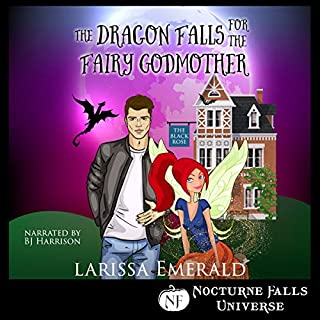 The Dragon Falls for the Fairy Godmother audiobook cover art