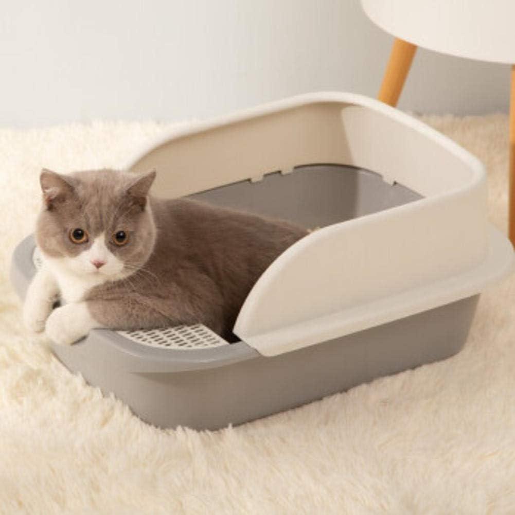 UWEKMQP Cat Litter Box Max 66% OFF Large semi-Encl Splash-Proof Max 73% OFF cat Supplies