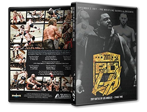 Official Pro Wrestling Guerrilla PWG - Battle of Los Angeles BOLA 2017 Stage 2 Event Blu-Ray