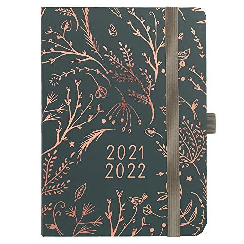 Boxclever Press Enjoy Everyday Kalender 2021 2022. Schülerkalender 2021 2022 von Aug.21-Aug.22. Leichter Terminplaner 2021 2022. Taschenkalender 2021 2022, Wochenplaner mit gepunkteten Notizseiten.