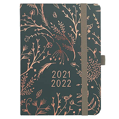 Boxclever Press Everyday Academic Diary 2021-2022 Week to View runs Aug'21 - Aug'22. Lightweight Mid...