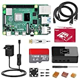Bqeel Raspberry Pi 4 Model B 2 GB Ultimatives Kit mit Quad-Core ARM-Cortex-A72/ 64GB Class10 Micro SD-Karte