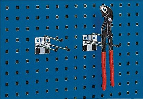 Zangenhalter T.175mm Draht-D.6mm f.Lochplatten Bott