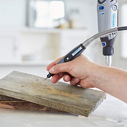 """Dremel 225-01- Flex Shaft Rotary Tool Attachment with Comfort Grip and 36"""" Long Cable - Engraver, Polisher, and Mini Sander- Ideal for Detail Metal Engraving, Wood Carving, and Jewelry Polishing"""