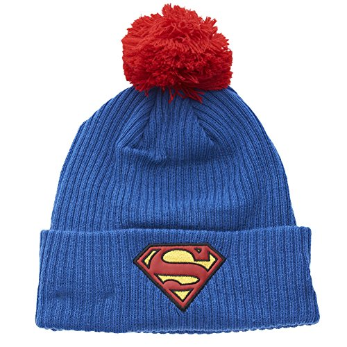 New Era x DC Comics - Bonnet Homme Superman Hero Fill Knit - Blue