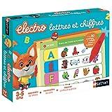 Nathan- Electro Letras y Números - Juego Educativo electrónico para niños de 3 a 5 años (DISET SA 31618)