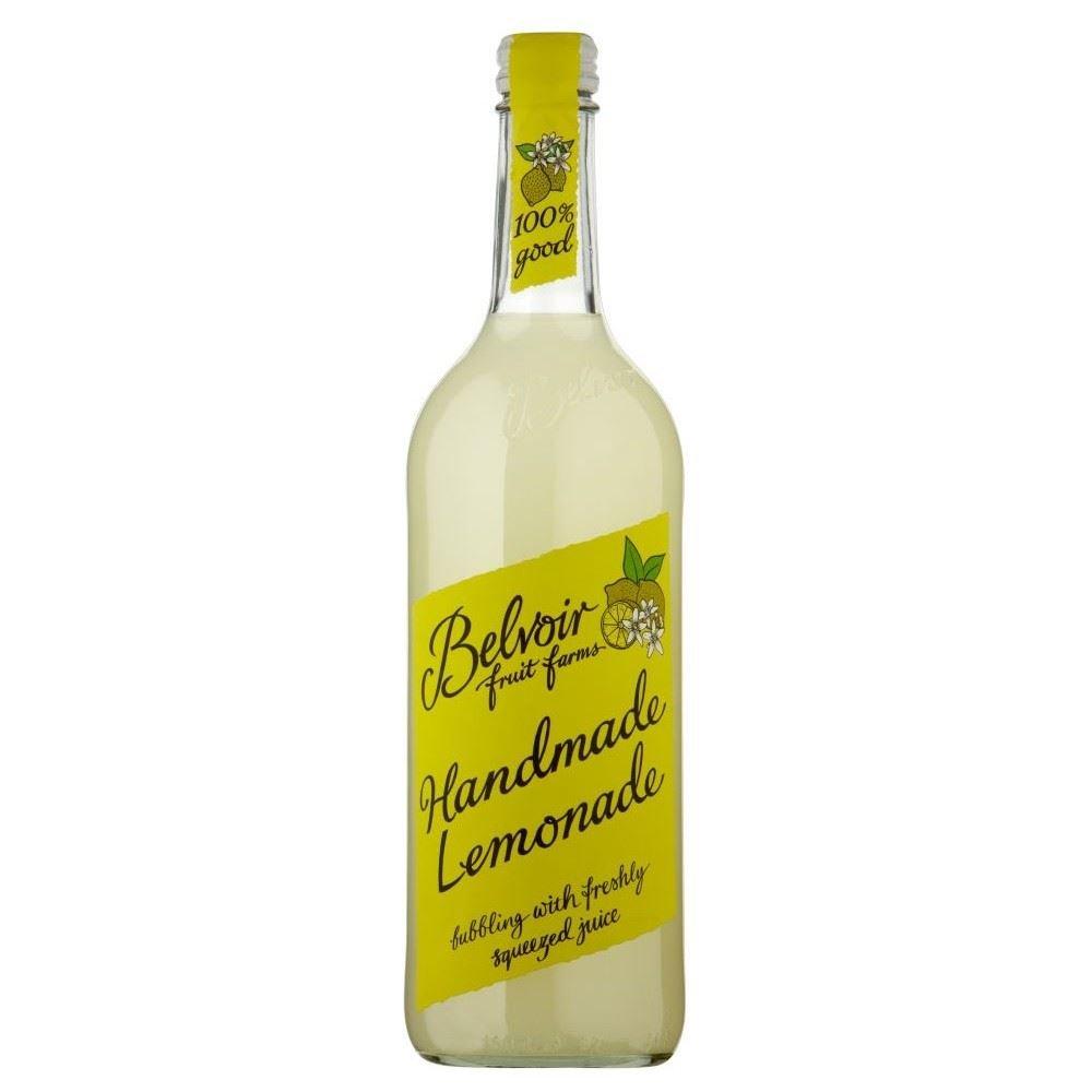 half Belvoir service Organic Lemonade 750ml 6 of - Pack