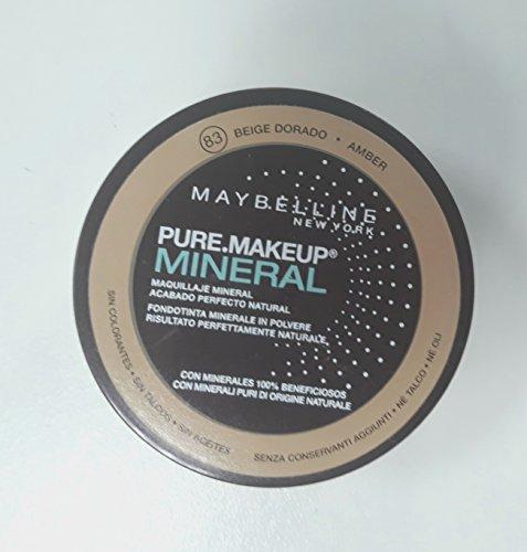 Gemey Maybelline - Fond de teint Poudre - Pure.Fond de teint Mineral - 83 Ambre