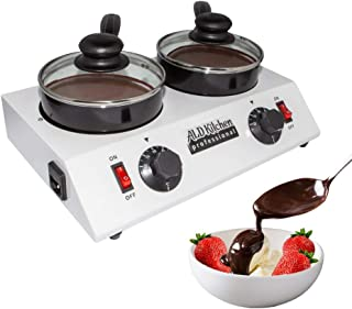 ALDKitchen Chocolate Melting Pot | Professional Chocolate Tempering Machine with Manual Control | Heated Chocolate | 110V | (Double (2.4 kg))