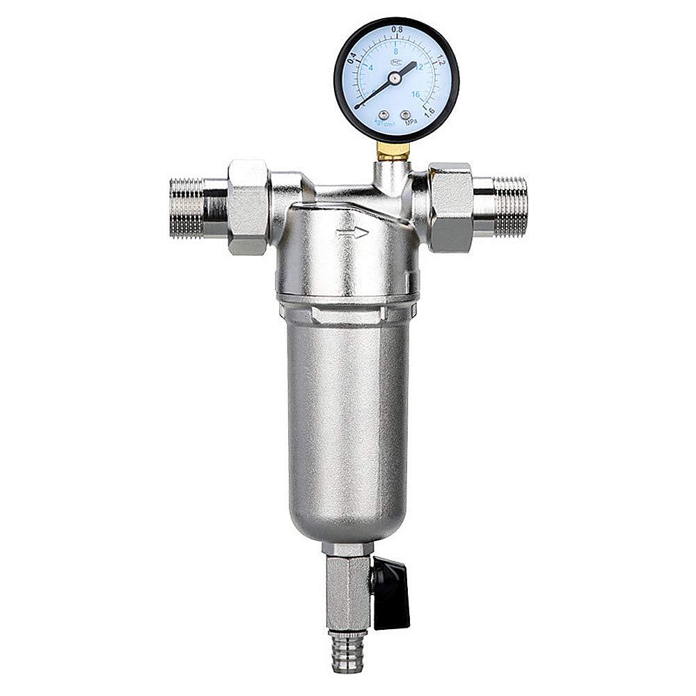 Filtro Purificador Acero Inoxidable Agua Grifo, Reutilizable ...
