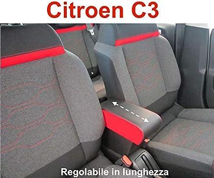 Filocar Design - Reposabrazos con Compartimento para Citroën C3