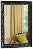 GaviaStore - Julie Negro 70x50 cm - Espejo de Pared Moderno (18 tamaños y Colores) Grande Muebles hogar decoración Salon Modern Dormitorio baño Entrada