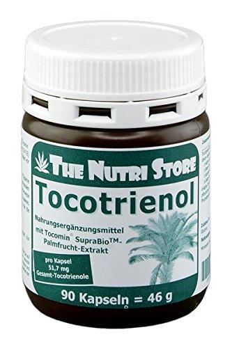 Tocotrienol Kapseln 90 Stk - mit 340 mg Tocotrienol-Tocopherol-Extrakt - 3 Monatsvorrat