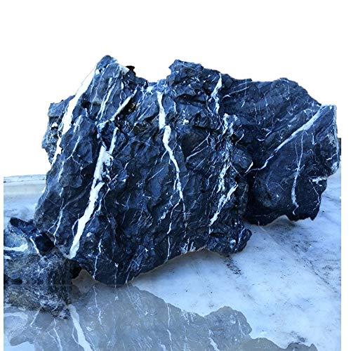 Tikwisdom Piedra de dragón de 3,5 kg para acuario, decoración de roca que crea un paisaje asombroso del acuario