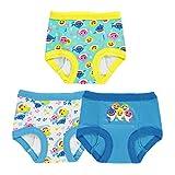 Baby Shark Boys' Toddler 3pk Potty Training Pant, 3-Pack, 2T