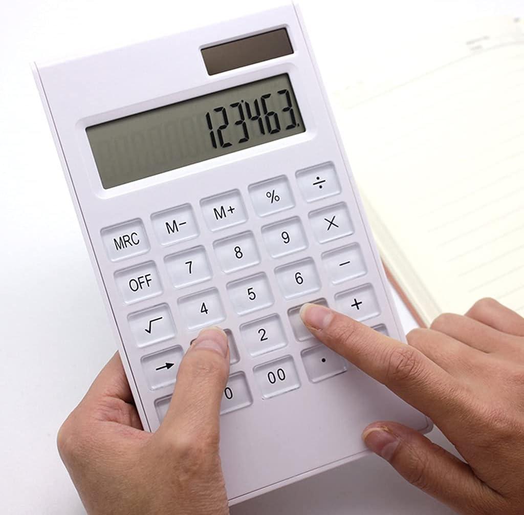 sgzyj 12 Digits Large Display Desktop Solar Thin Gorgeous Ba Calculator online shopping