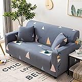 WXQY Funda de sofá elástica con Estampado geométrico para Sala de Estar, Funda de sofá Modular en Forma de L Funda de sofá A2 1 Plaza