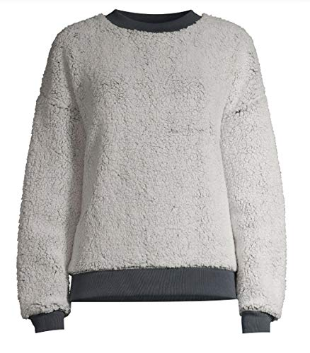 Grey Stone Sherpa Sleep Top - Small