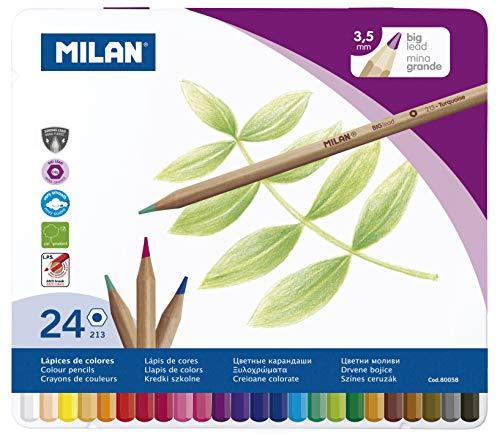 Milan 80058 - Lápices, 24 unidades