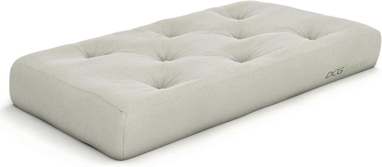 Nirvana Futons Plush Comfortable Quality inspection 8-Inch Futon Max 60% OFF Chair Mattress I