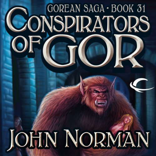 Conspirators of Gor audiobook cover art