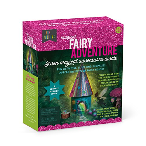 Magical Fairy Adventure - Fun Activities, Surprises, and Clues Magically Appear in an Enchanted Fairy House