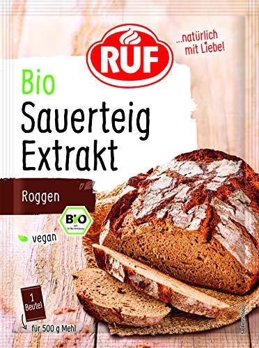 RUF Bio Sauerteigextrakt vegan aus Roggenvollkornmehl, 25er Pack (25 x 2 x 15g)