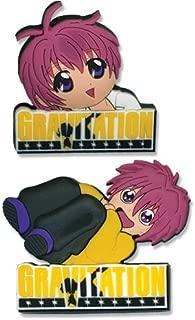 Gravitation: Logo And Shuichi Pin Set