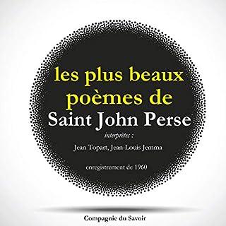 Couverture de Les plus beaux poèmes de Saint-John Perse