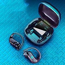 Fone de ouvido QUANXI MD03-TWS sem fio com controle de toque Bluetooth 5.0