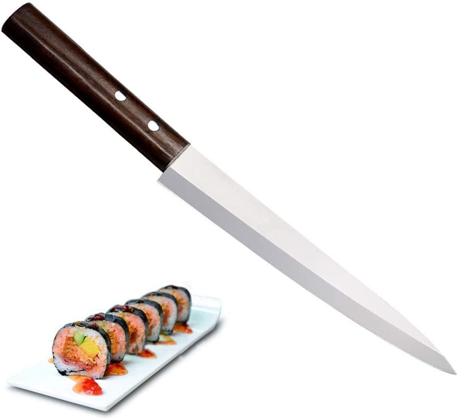 Minneapolis Mall Sushi Knife Purchase 10 Inch Sashimi Steel Powder Kitch Swedish L35