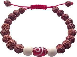 Hands Of Tibet Tibetan Mala Rudraksha Wrist Mala/Bracelet for Meditation
