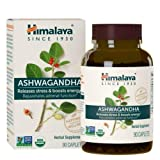 Organic Ashwagandha 670 mg 90 Caplets Himalaya, Equivalent to 4630mg of Ashwagandha Root Powder, 3 Month Supply of Anxiety Supplements for Anxiety and Stress Relief